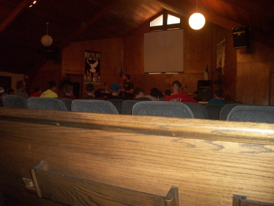 Cameron had the privilege of speaking about missions at a youth camp.