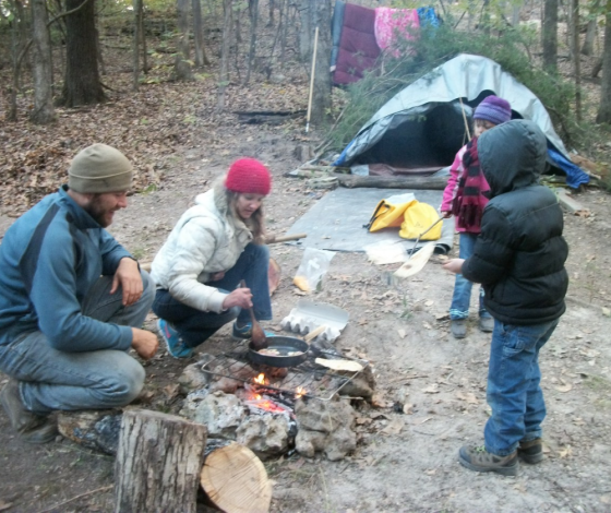 Part of our Practical Skills classes included a 4 day camping trip.