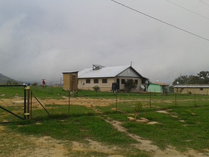 One of the missionaries' homes located in the village where I stayed