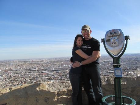 Overlooking El Paso