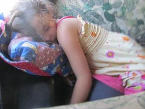 Gracia slept too