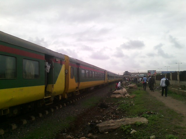 Here is the train we took this morning to come into Dakar for meetings.